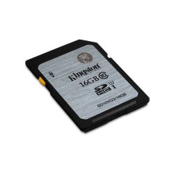 Kingston  Technology  Class  10  UHS-I  SDHC  16GB