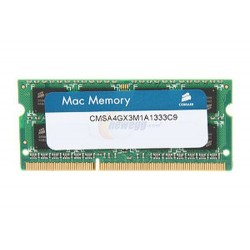 Corsair  CMSA4GX3M1A1333C9  4GB  DDR3  1333MHz  m