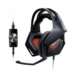 ASUS  Strix  Pro  Binaurale  Diadema  Negro,  Naranja  auricular  con  micr