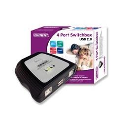 EMINENT  COMUTADOR  CON  4  PUERTOS  USB