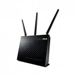 ASUS  RT-AC68U  Wifi  Ethernet  Banda  dual  Negro