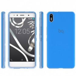 Bq  Funda  Aquaris  X5  Blue  Gummy  (E000636)