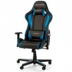 SILLA  DXRACER  F-Series  OH/FL08/NB  Negra-Azul  -  Incluye  2  almohadillas