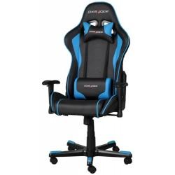 DXRACER  SILLA  F-Series  OH/FE08/NB  Negra-Azul  -  Incluye  2  almohadillas