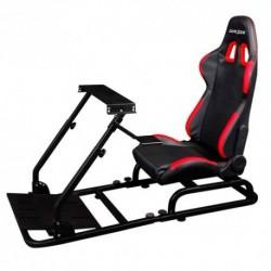 Simulador  DXRACER  PS/COMBO/300  Negra-Roja  (PS/F03/NR)