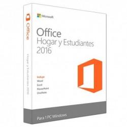 MICROSOFT  OFFICE  HOGAR  y  ESTUDIANTES  2016  (Word-Excel-Power  Point)(79G-04621  )