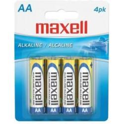 Maxell  Pilas  Alcalinas  AA  Blister  4
