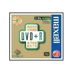 Maxell  DVD+R  8x  Jewelcase