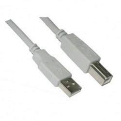 NANOCABLE  CABLE  USB  2.0  IMPRESORA,  A/M-B/M,  BEIGE,  1.8  M