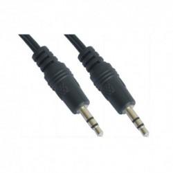 NANOCABLE  CABLE  AUDIO  ESTEREO,  3.5/M-3.5/M,  0.3  M