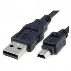 NANOCABLE  CABLE  USB  2.0,  TIPO  A/M-MINI  USB  5PIN/M,  1.8  M