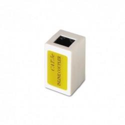 Nanocable  10.21.0401  RJ-45  RJ-45  Beige  adaptador  de  cable