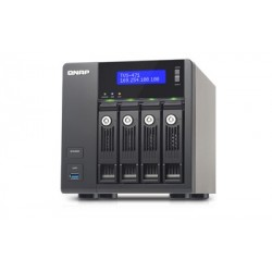 QNAP  TVS-471-I3-4G  servidor  de  almacenamiento