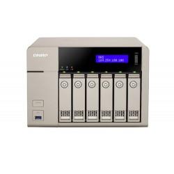 QNAP  TVS-663-4G  servidor  de  almacenamiento