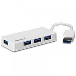 TRENDNET  MINI  HUB  USB  DE  4  PUERTOS  (TU3-H4E)