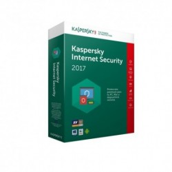 Kaspersky  Lab  Internet  Security  Multi-Device  2017  5usuario(s)  1año(s)