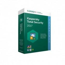 Kaspersky  Lab  Total  Security  Multi-Device  2017  3usuario(s)  1año(s)
