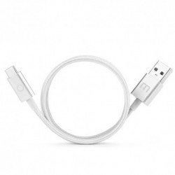 CABLE  MEIZU  USB  TIPO  C,  METALICO,  1.5M